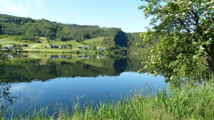 Landschaft kurz vor Voss