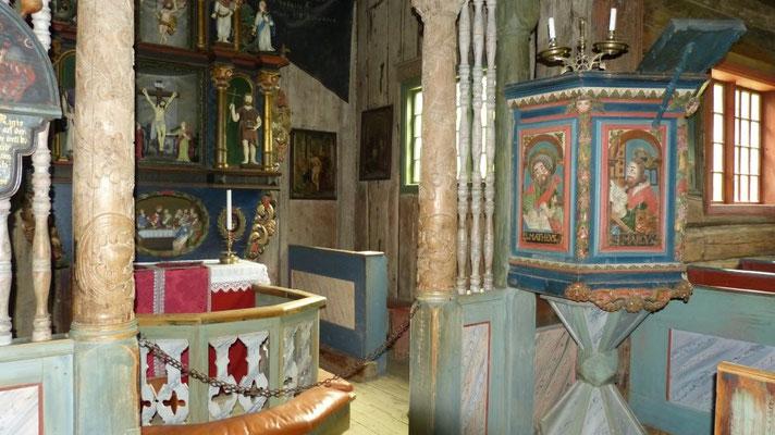 Stabkirche im Museum Maihaugen