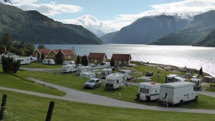 Camping Kjoernes bei Sogndal
