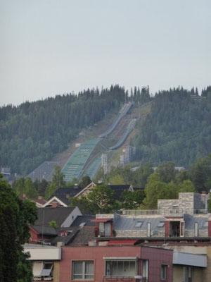 Blick auf die Olympia-Anlage