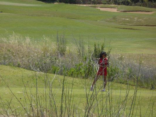 schöner Blick auf den Golfplatz Donnafugata
