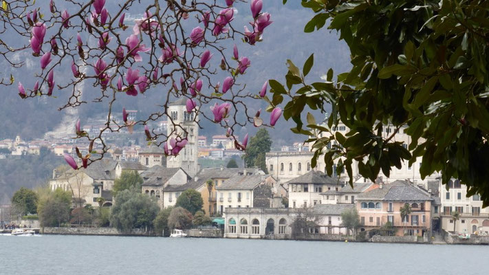 Blick auf Isola San Giulia