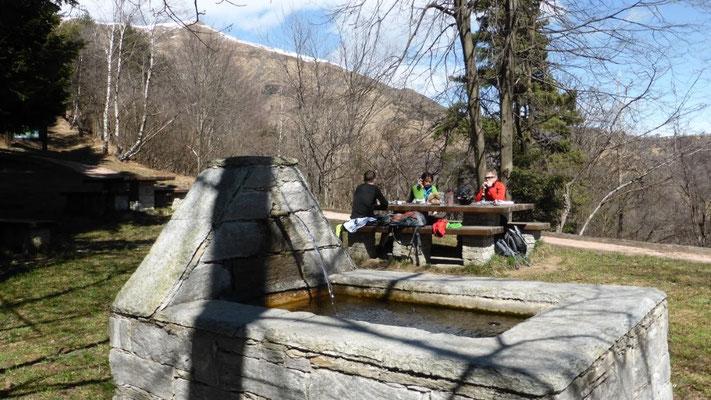 toller Rastplatz im Val Grande