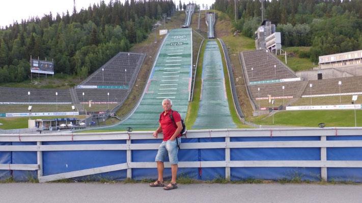 Olympia-Schanzen von Lillehammer