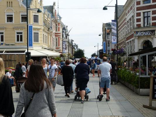 Fußgängerzone Kristiansand