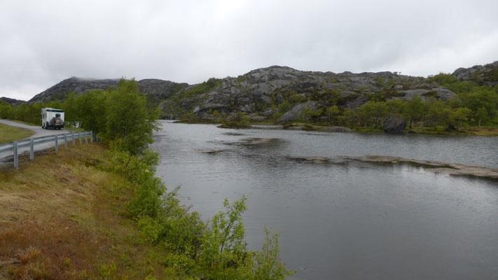 auf der 44 Richtung Stavanger