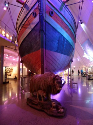 im Fram-Museum