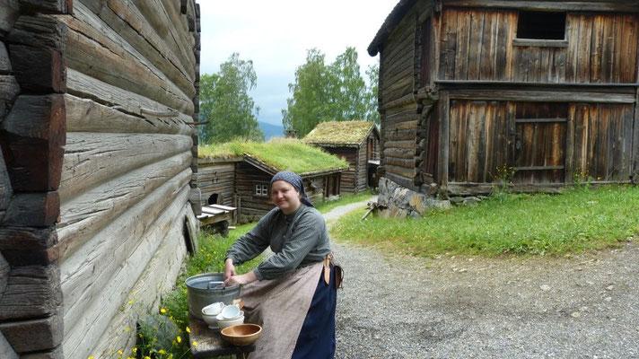 Bäuerin im 18. Jh. Museum Maihaugen
