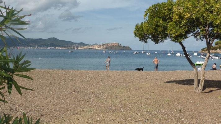 Strand bei Bagnaia - Tour 4 -