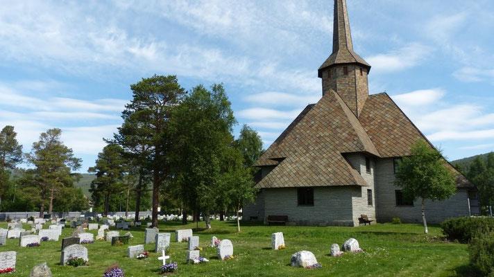 Stabkirche bei Dombas