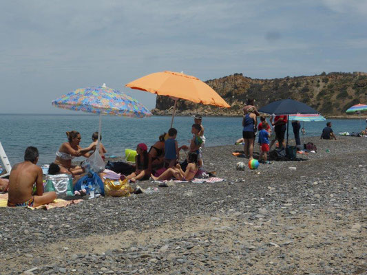am Strand in der Nähe CP Rais Gerbi