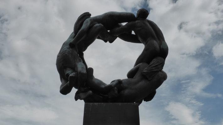 Vigeland-Skulptur