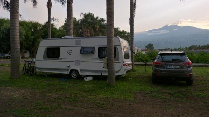 unser Stellplatz am Camp Mokambo