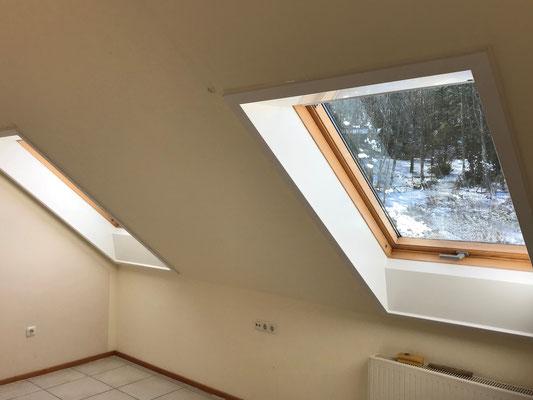 Velux roto innenfutter liefern und montieren vom fachmann siegen haiger burbach neunkirchen - Dachfenster innenfutter rigips ...