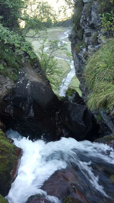 Wasserfall richtung Bödeli