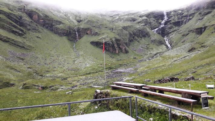 Schnee im August im Oberberg