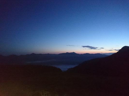 Morgenerwachen im Kuhberg