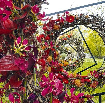 В 2017 году работа команды «Мечтатели» заняла на Международном фестивале цветов на Елагином острове первое место