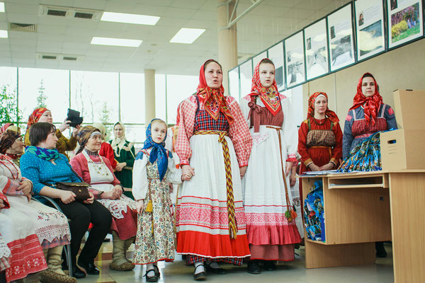 Педагоги и ученики клуба «Василиса»