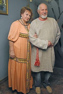 Нина Федоровна со старым клиентом Павлом Алексеевичем Михайловым