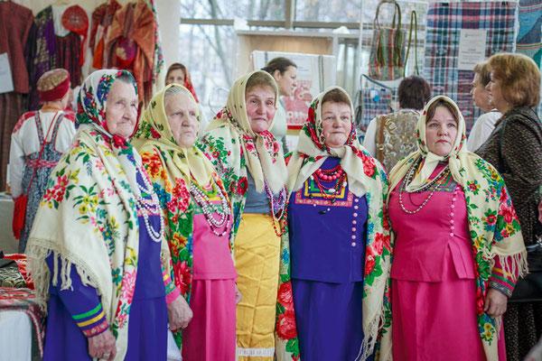 Фольклорный коллектив из деревни Вельцы Архангельской области «Вельцовские бабушки»