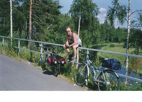 На пароме Silia Line и на мосту Сайменского канала