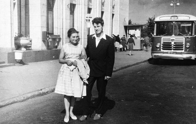 Анатолий и Валентина. 1961 г.
