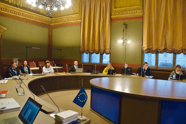 Заседание Хельсинской комиссии в Финляндии