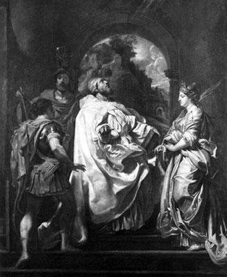 Картина П. Рубенса «Грегор и Домитилла» (1602) из коллекции Гитлера. Ныне – собственность Министерства финансов ФРГ