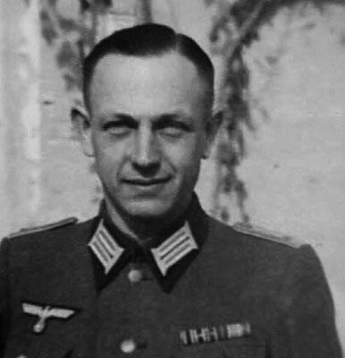 Обер-лейтенант В. Ахтерман