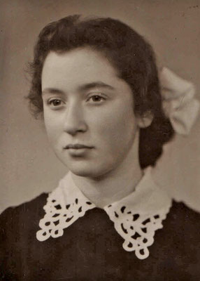 Татьяна Малашенко в 1954 г.
