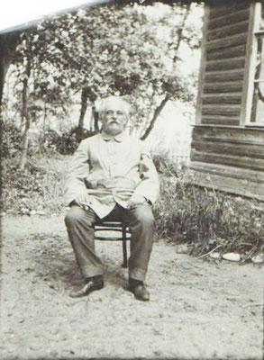 И. А. Гляссер в Царском Селе. 1911 г.