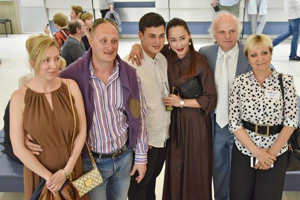 """Евгения Игумнова с сыном на кинофестивале """"Виват кино России!"""""""