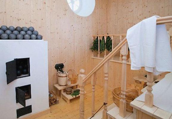 Парилка в павильоне «Нижняя ванна»
