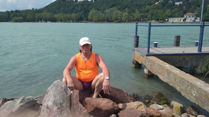 На озере Балатон. 2019 г.