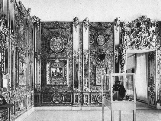 Стена «немецкого» Янтарного кабинета. Фото из журнала Kunst für Alle. 1942 г
