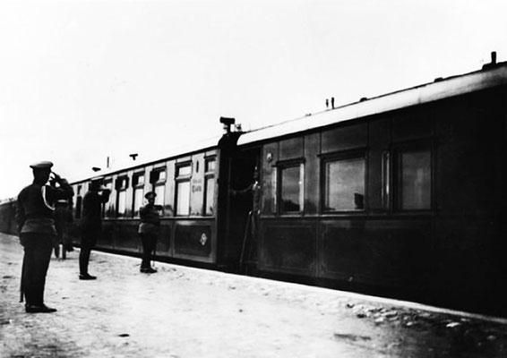 Императорский поезд. 1915 г.