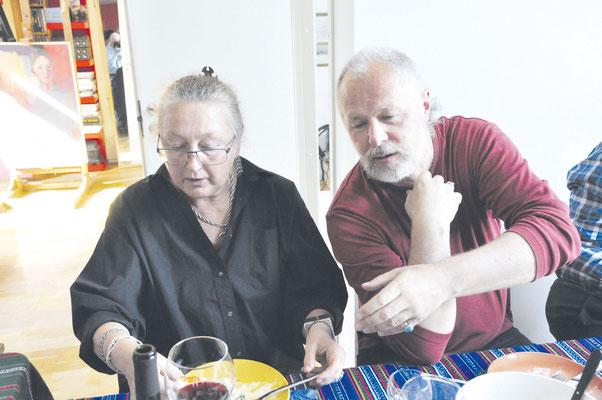 Семья художников: Николай Романов с супругой Юлией Вальцефер