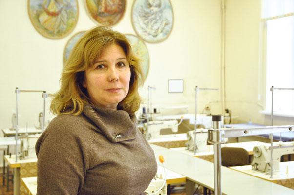 Заведующая пушкинской учебной площадкой колледжа Ольга Владиславовна Пономарева