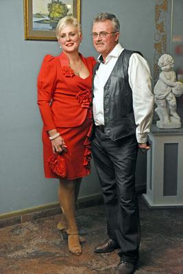 Еще одна яркая и красивая пара — супруги Ирина и Сергей Архиповы