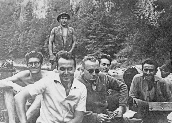Виктор Есипов во время отпуска в Сербии. 1970-е годы