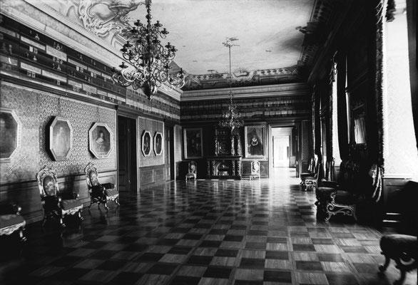 Большой Орденский зал, где в апреле 1945 г. находился разобранный «немецкий Янтарный кабинет»