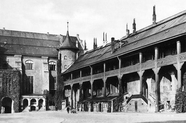 Северное крыло Кёнигсбергского замка с Орденским залом и рестораном «Блютгерихт» в подвале