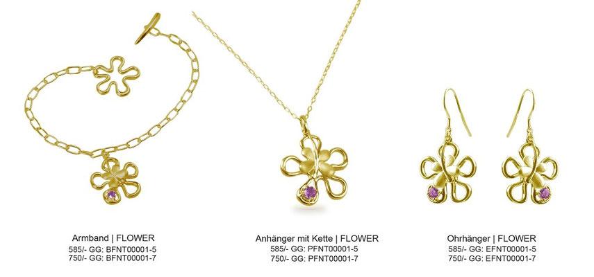 Serie - FLOWER (Gold)