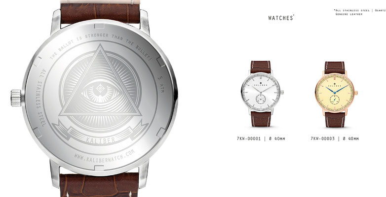 KALIBER - Watches (Edelstahl)