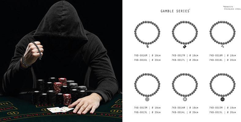 KALIBER - Gamble Series (Hämatit/Edelstahl)