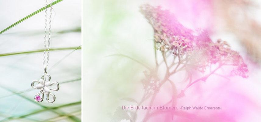 Die Erde lacht in Blumen. - Ralph Waldo Emerson -