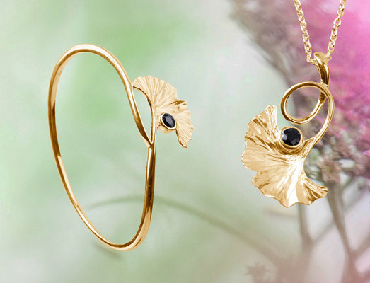 You Nature - Serie SAFIR - in 585 / 750 Gold