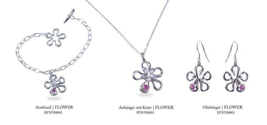 Serie - FLOWER (Silber)