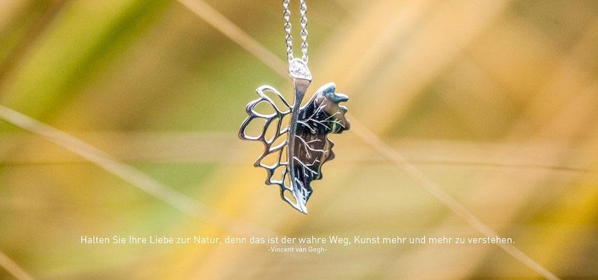 Bewahren Sie Ihre Liebe zur Natur, denn das ist der wahre Weg, Kunst mehr und mehr zu verstehen. - Vincent van Gogh -